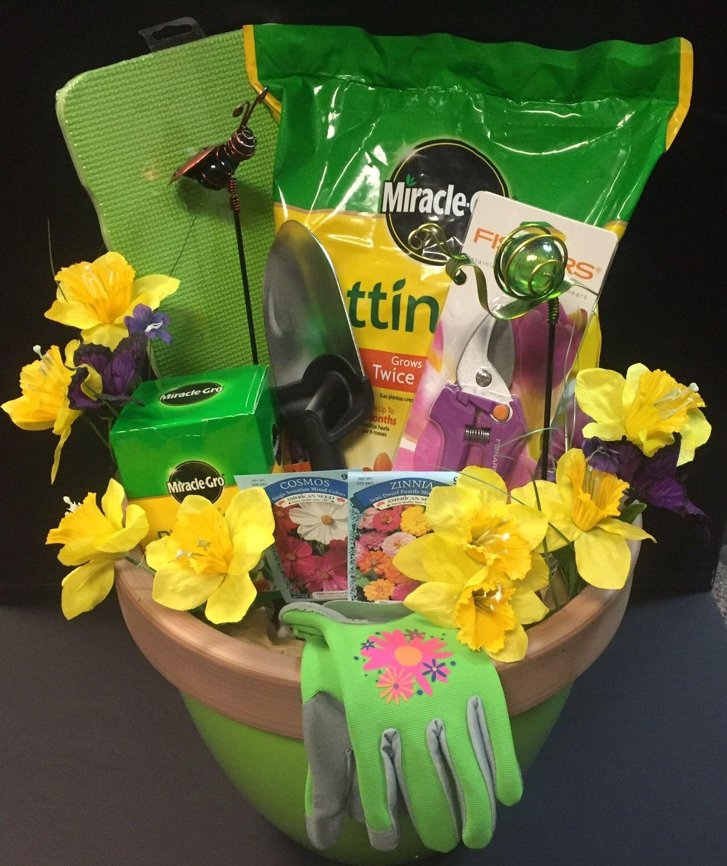 Garden Themed Gift Basket Ideas  Gardening Raffle Basket