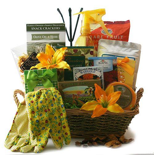 Garden Themed Gift Basket Ideas  How to Create a Garden Gift Basket Garden Gift Basket