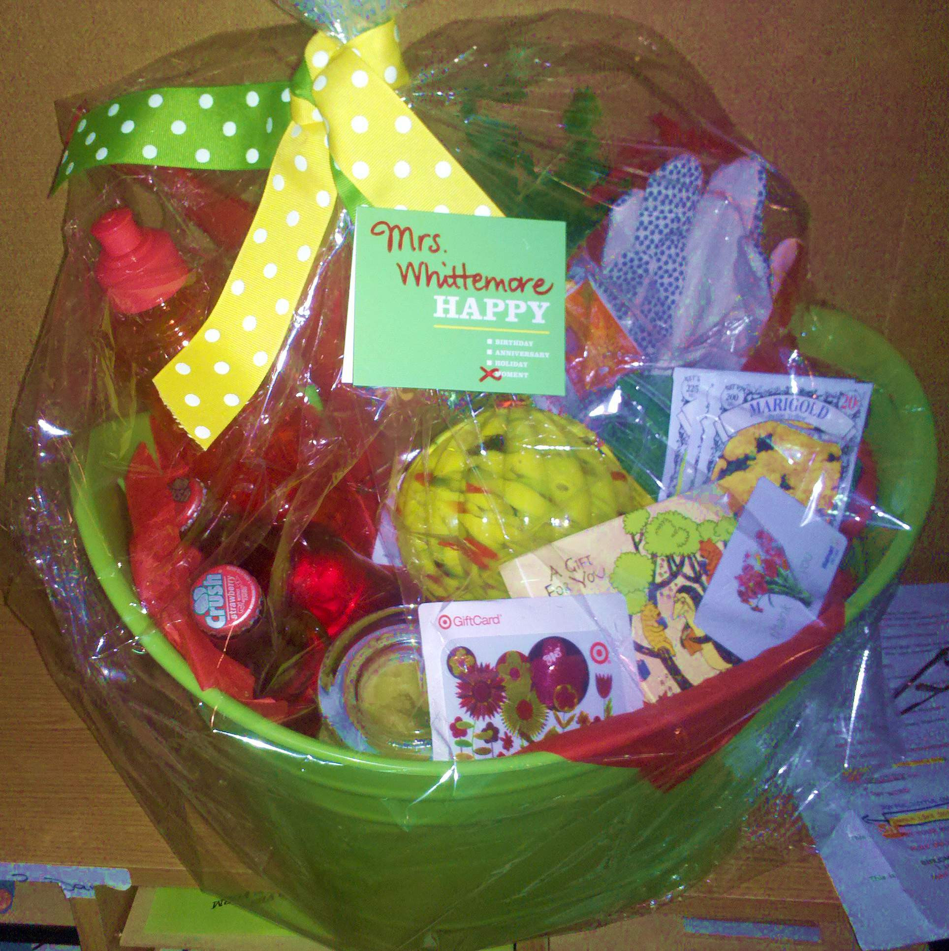 Garden Themed Gift Basket Ideas  the lowdown on How To Put To her A Fantastic