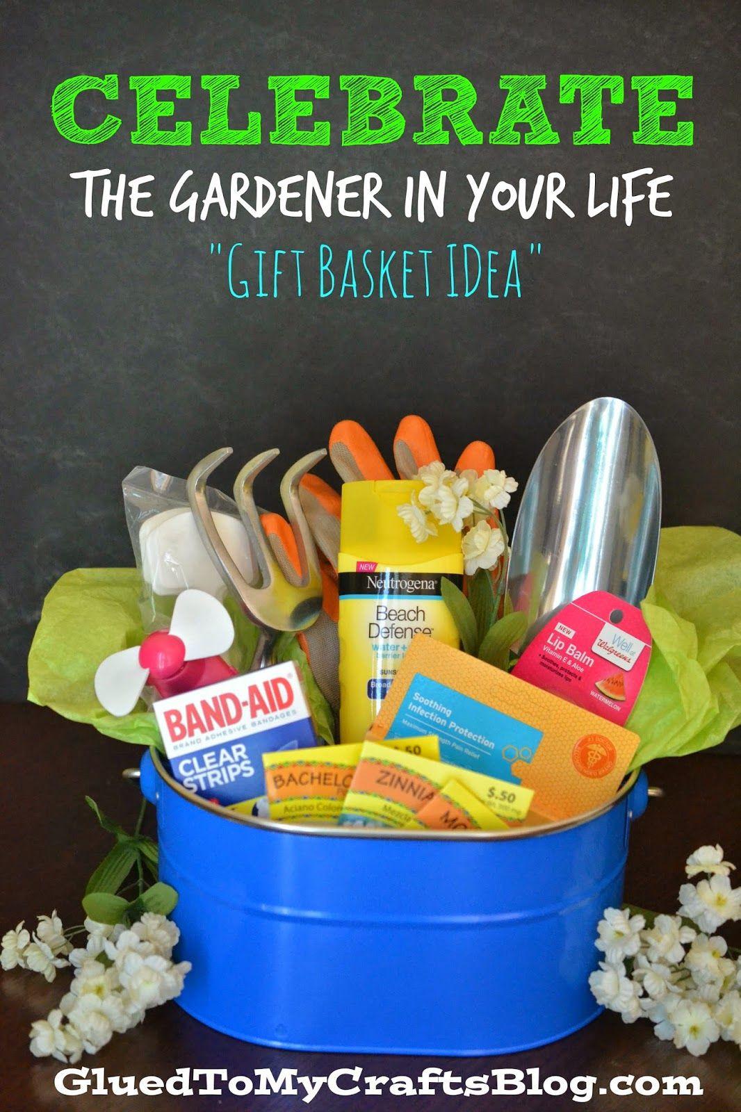Garden Themed Gift Basket Ideas  Celebrate The Gardener In Your Life Garden Gift Basket