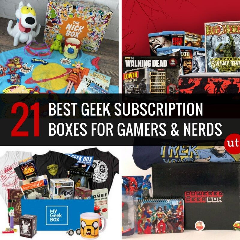 Geek Gifts For Kids  24 Best Geek Subscription Boxes For Gamers and Nerds