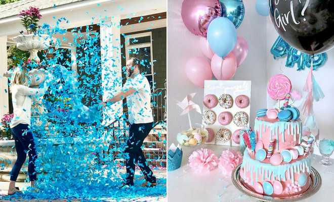 Gender Reveal Ideas For Party  43 Adorable Gender Reveal Party Ideas