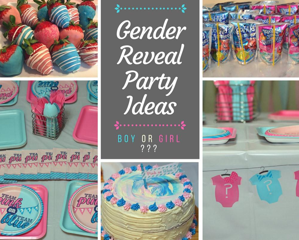 Gender Reveal Ideas For Party  Gender Reveal Party Ideas Gender reveal cake pink
