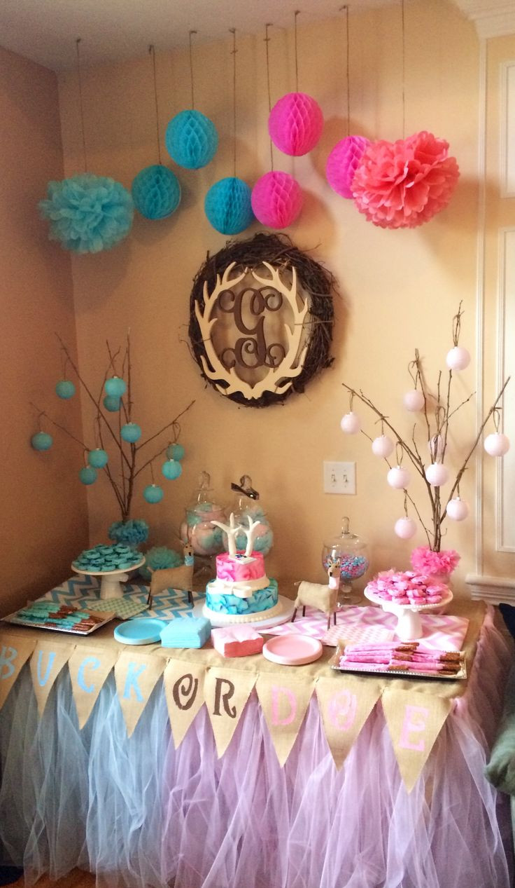 Gender Reveal Ideas For Party  68 best Gender Reveal Party Ideas images on Pinterest