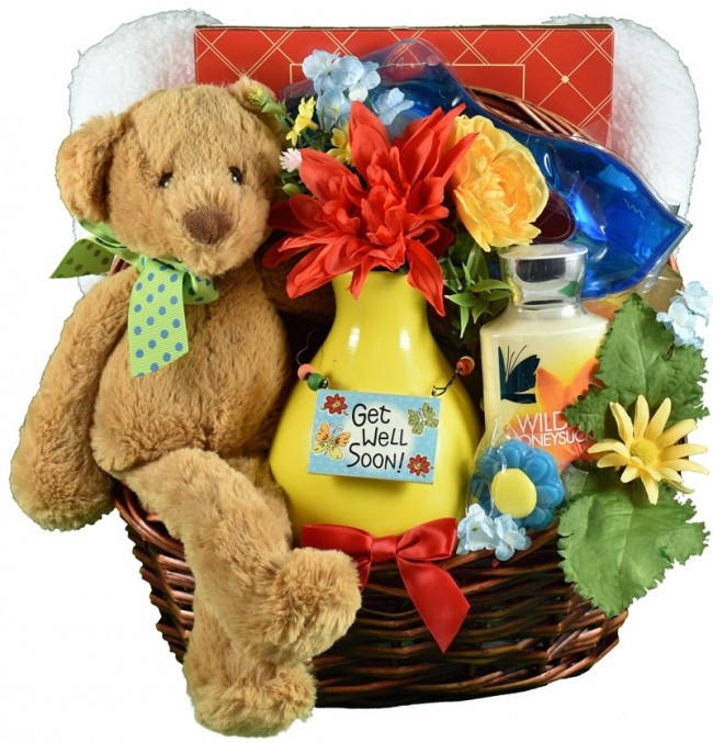 Get Well Soon Gifts For Kids  Get Well Soon Bear Hugs Cheery Get Well Gift Idea
