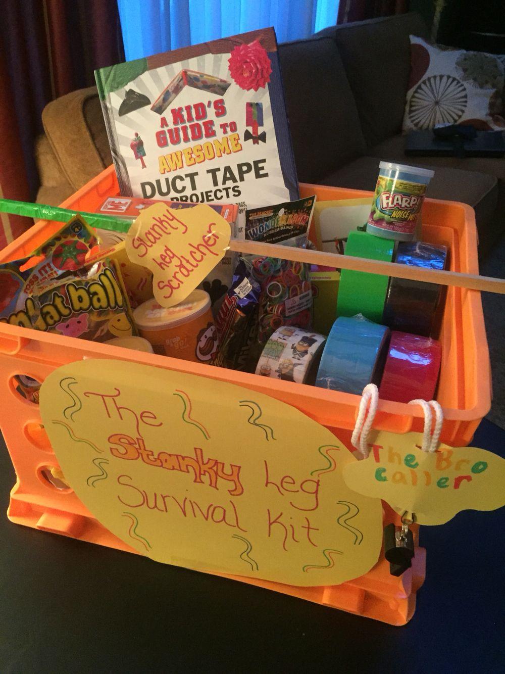Get Well Soon Gifts For Kids  Broken Leg Activity Basket