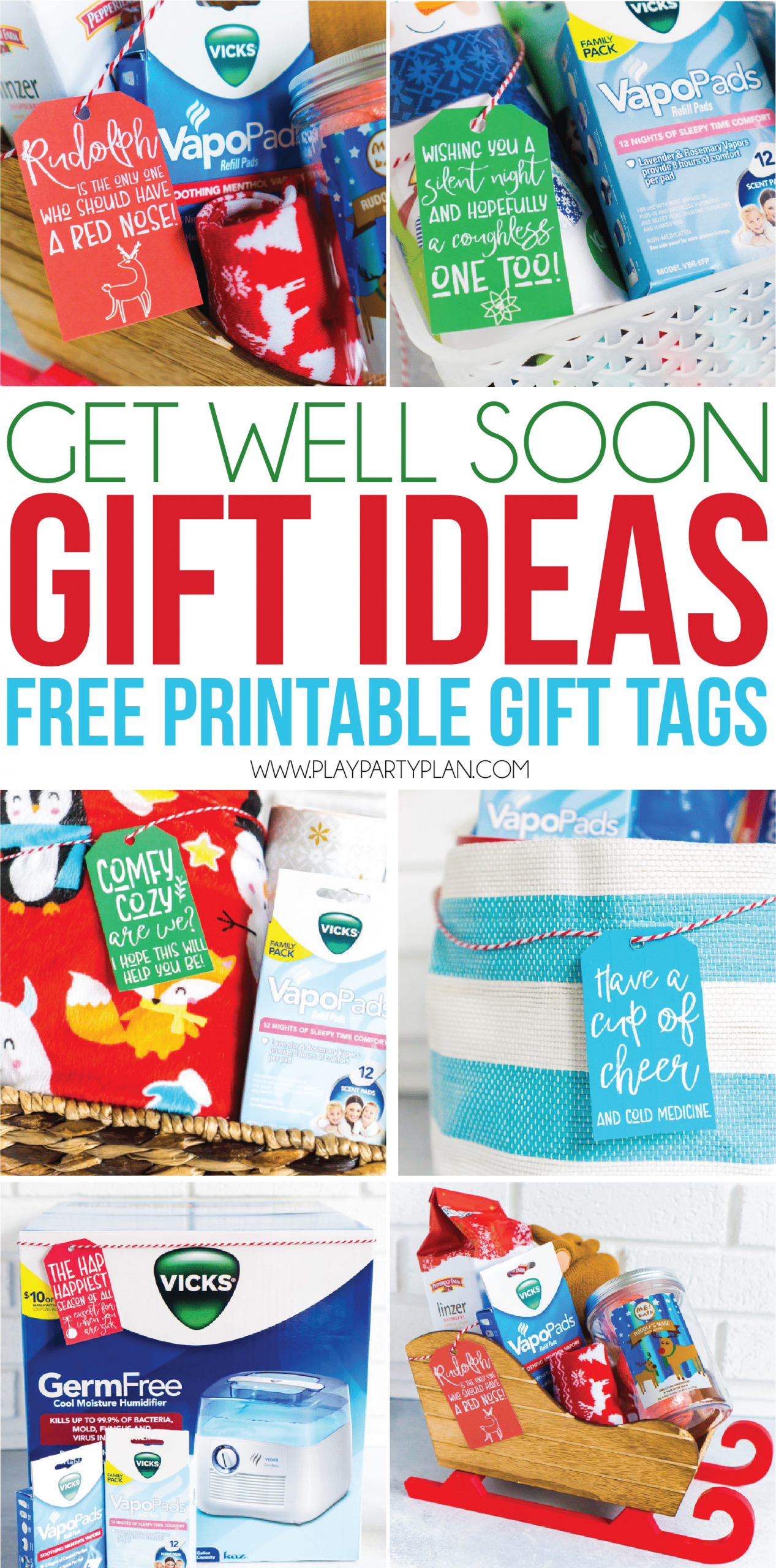 Get Well Soon Gifts For Kids  Funny Get Well Soon Gifts & Free Printable Cards Play
