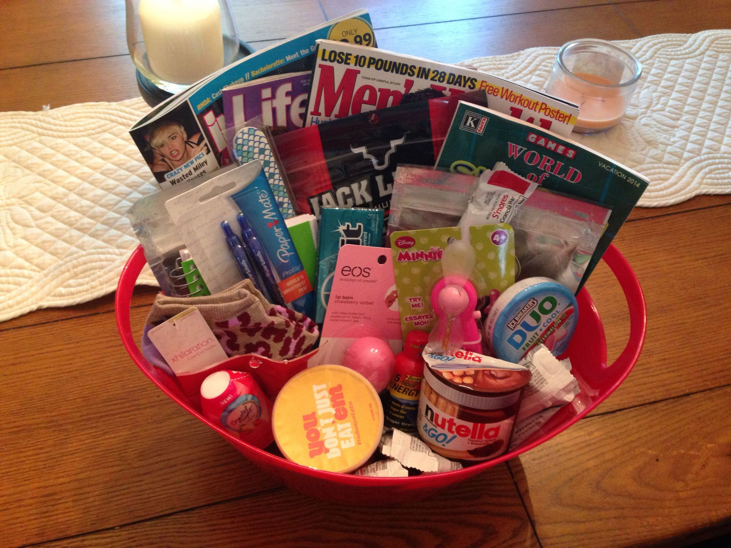 Gift Basket For Child In Hospital  Labor and Delivery Hospital Survival Kit Baby Shower Gift