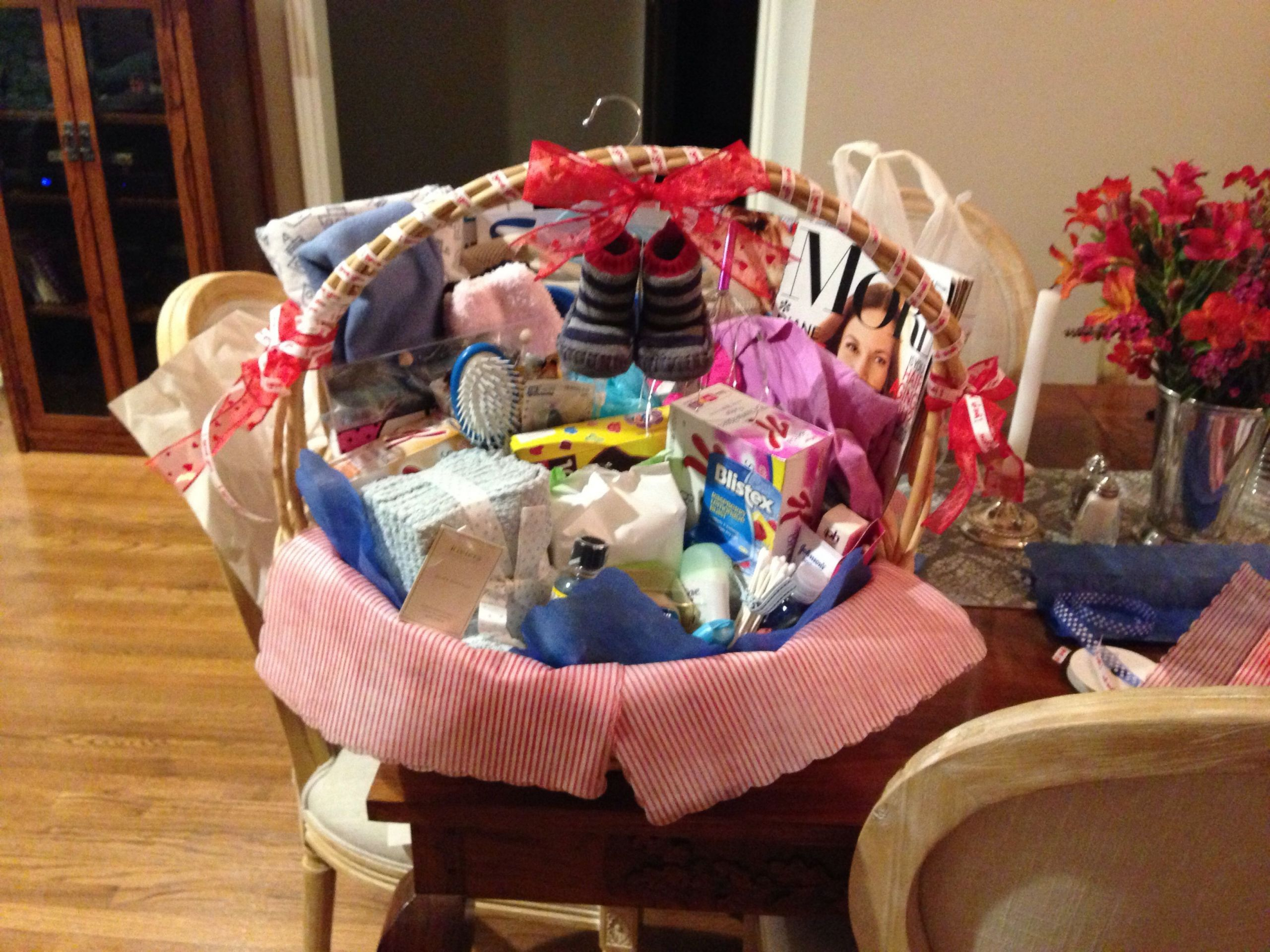 Gift Basket For Child In Hospital  Hospital basket for new mom