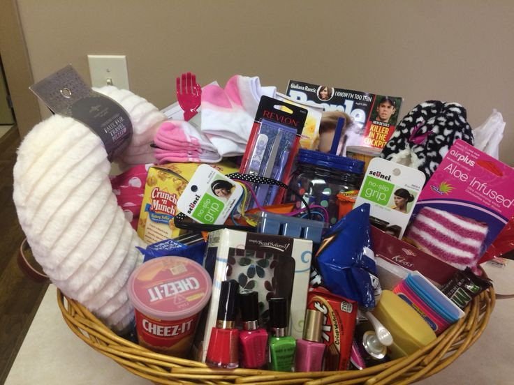 Gift Basket For Child In Hospital  kids chemo care package ideas