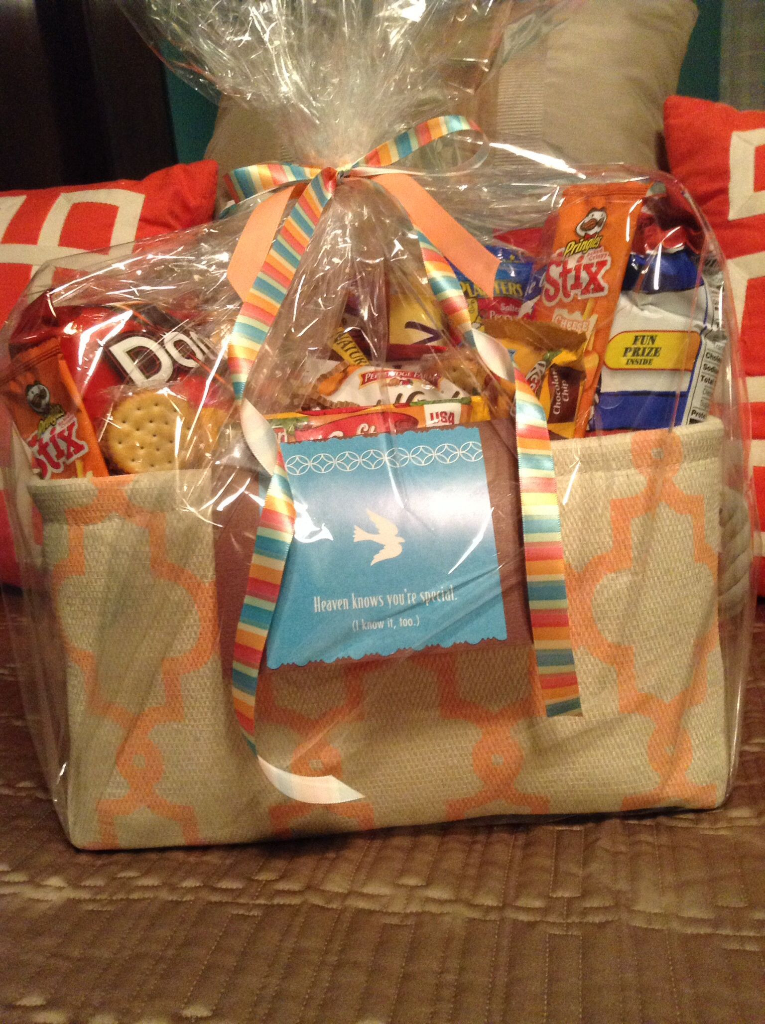 Gift Basket For Child In Hospital  My Hope Basket for a friend who s son was in Children s
