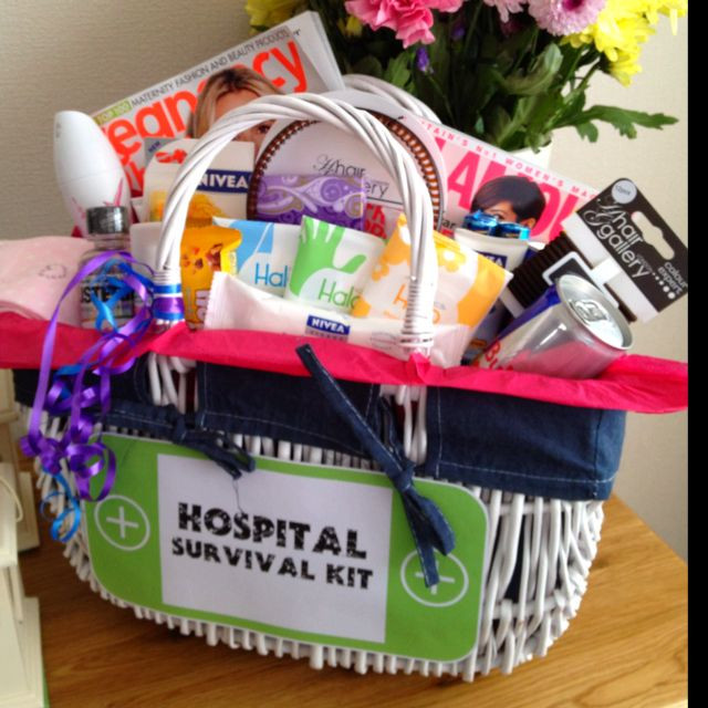 Gift Basket For Child In Hospital  Hospital Survival Kit I made this for my expecting
