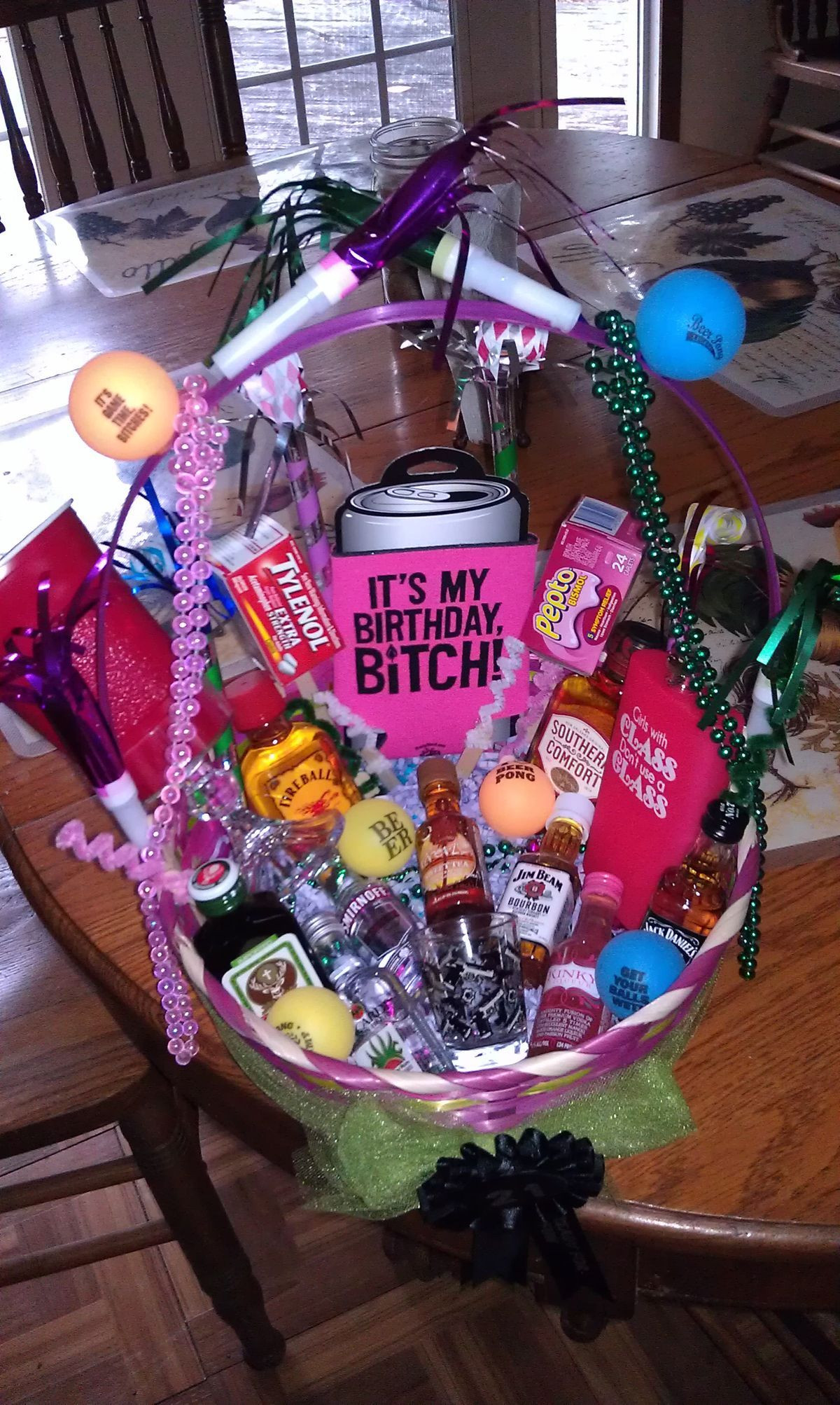 Gift Basket Ideas For Friends Birthday  Pin by Diane Schultz Ziccardi on ts