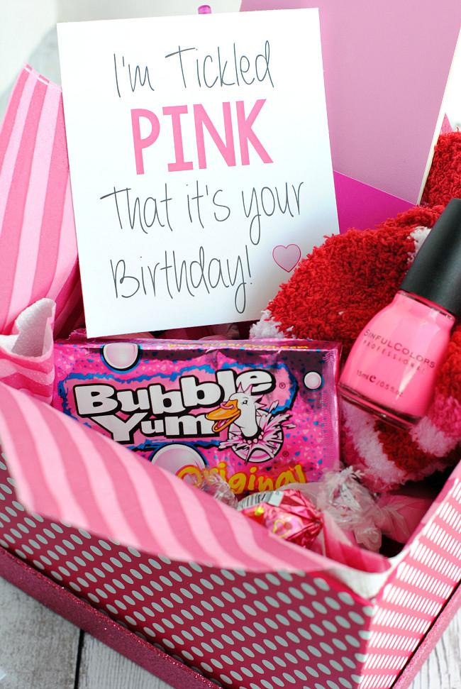 Gift Basket Ideas For Friends Birthday  25 Fun Birthday Gifts Ideas for Friends Crazy Little