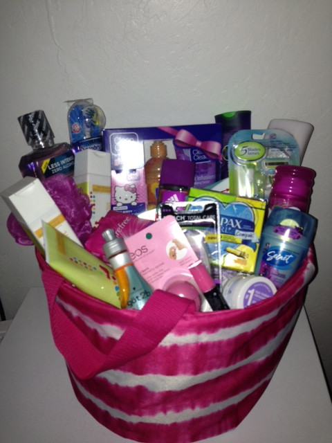 Gift Basket Ideas For Girls  t baskets for teenage girls Google Search Fox Home