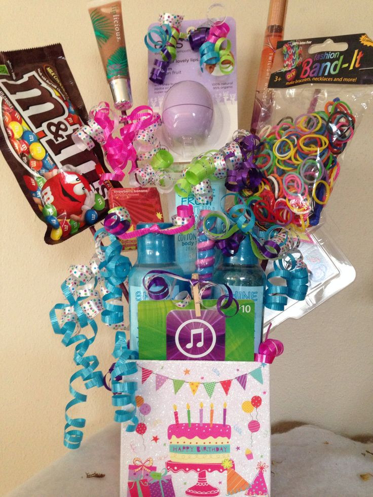 Gift Basket Ideas For Girls  Girl birthday t basket My Projects