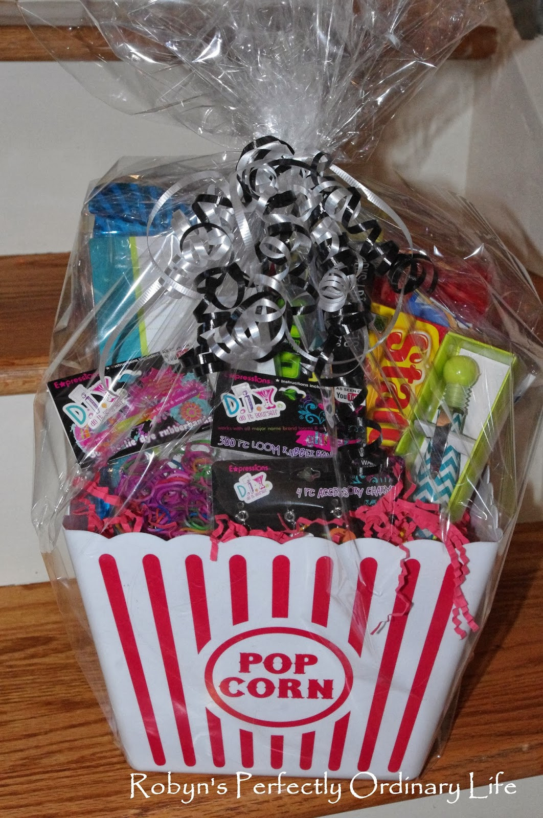 Gift Basket Ideas For Girls  Robyn s Perfectly Ordinary Life Cute DIY Tween Girl Gift