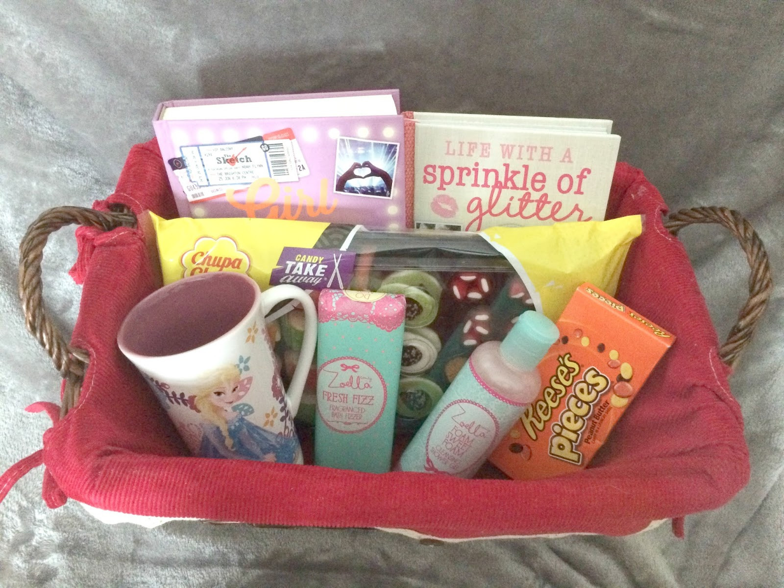 Gift Basket Ideas For Girls  A Teenage Girl Gift Basket