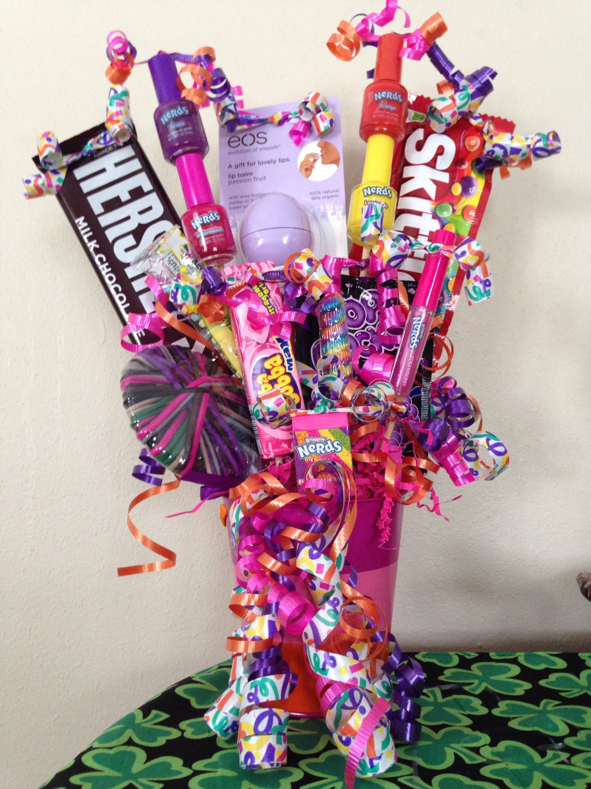 Gift Basket Ideas For Girls  Pin by Toni Aanerud on My Projects