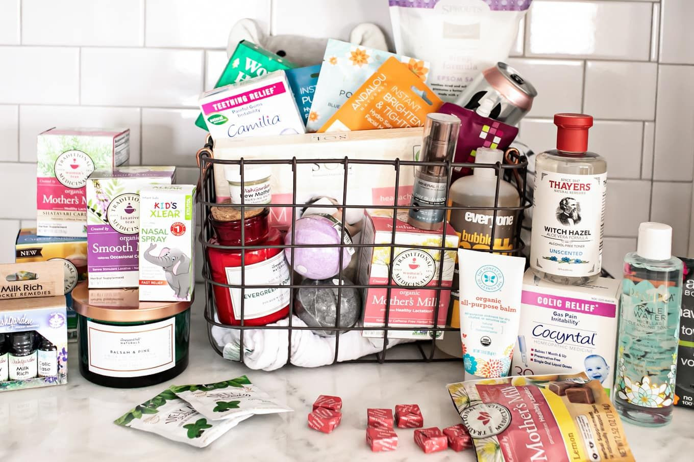 Gift Basket Ideas For New Mom  New Mom Gift Basket Healthy Practical Ideas to Pamper