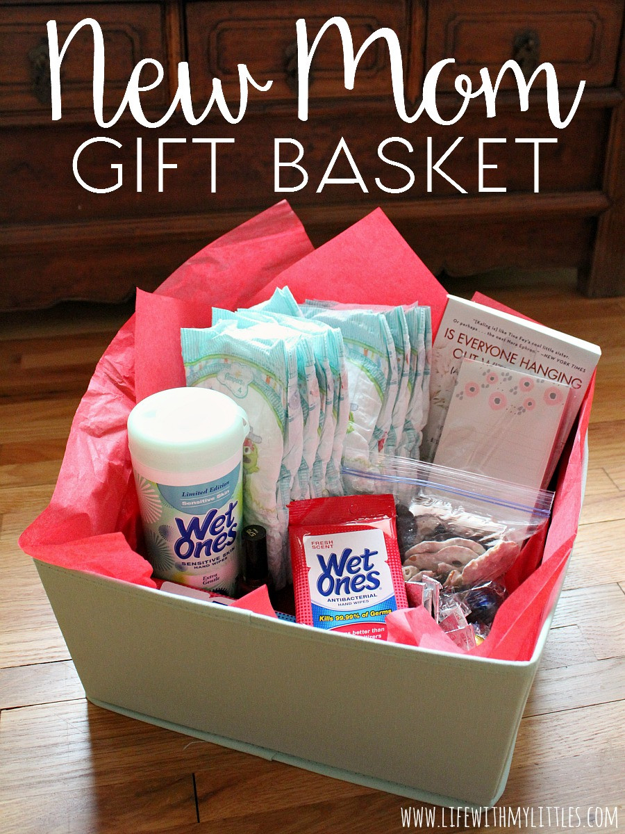 Gift Basket Ideas For New Mom  New Mom Gift Basket Life With My Littles