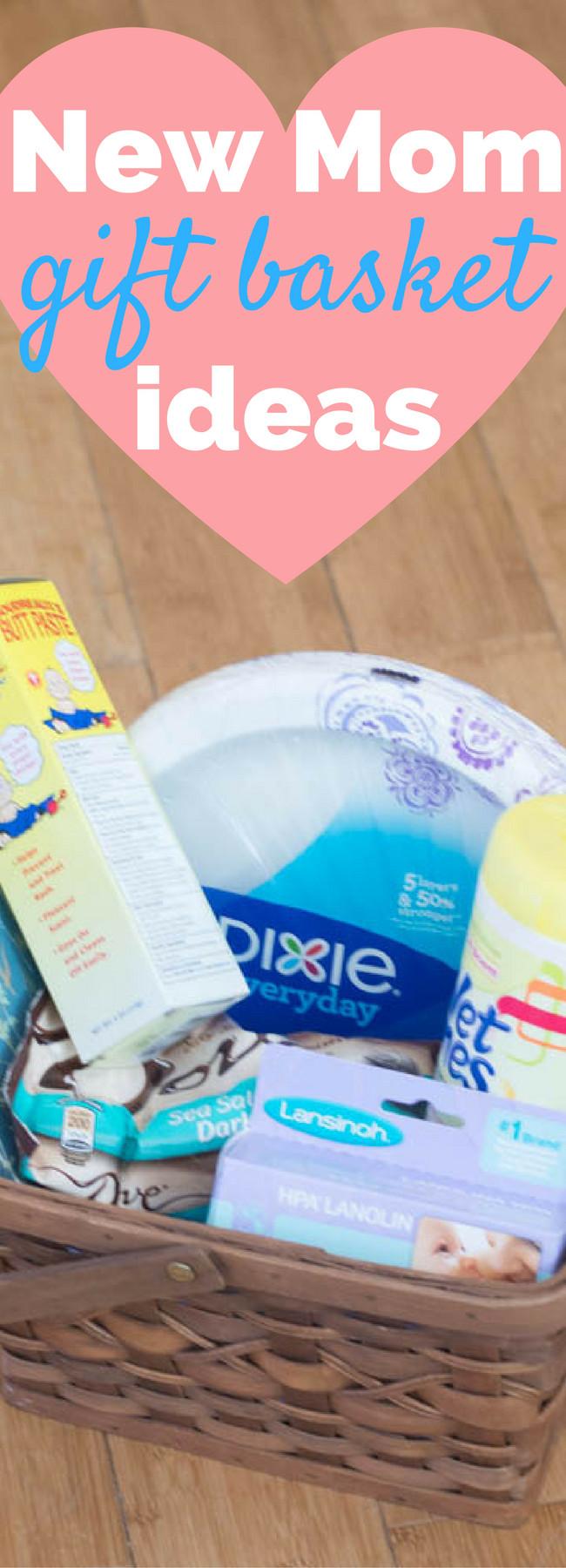 Gift Basket Ideas For New Mom  New Mom Gift Basket Ideas
