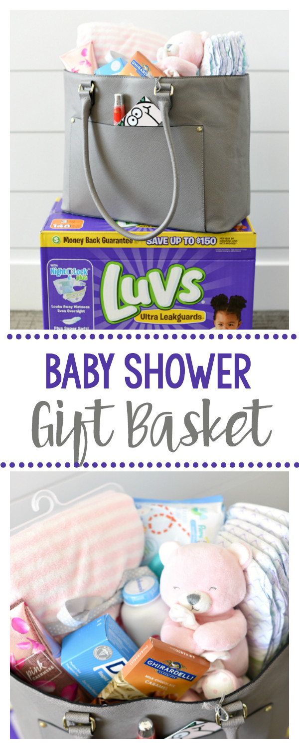 Gift Basket Ideas For New Mom  Perfectly Simple New Mom Gift Basket – Fun Squared
