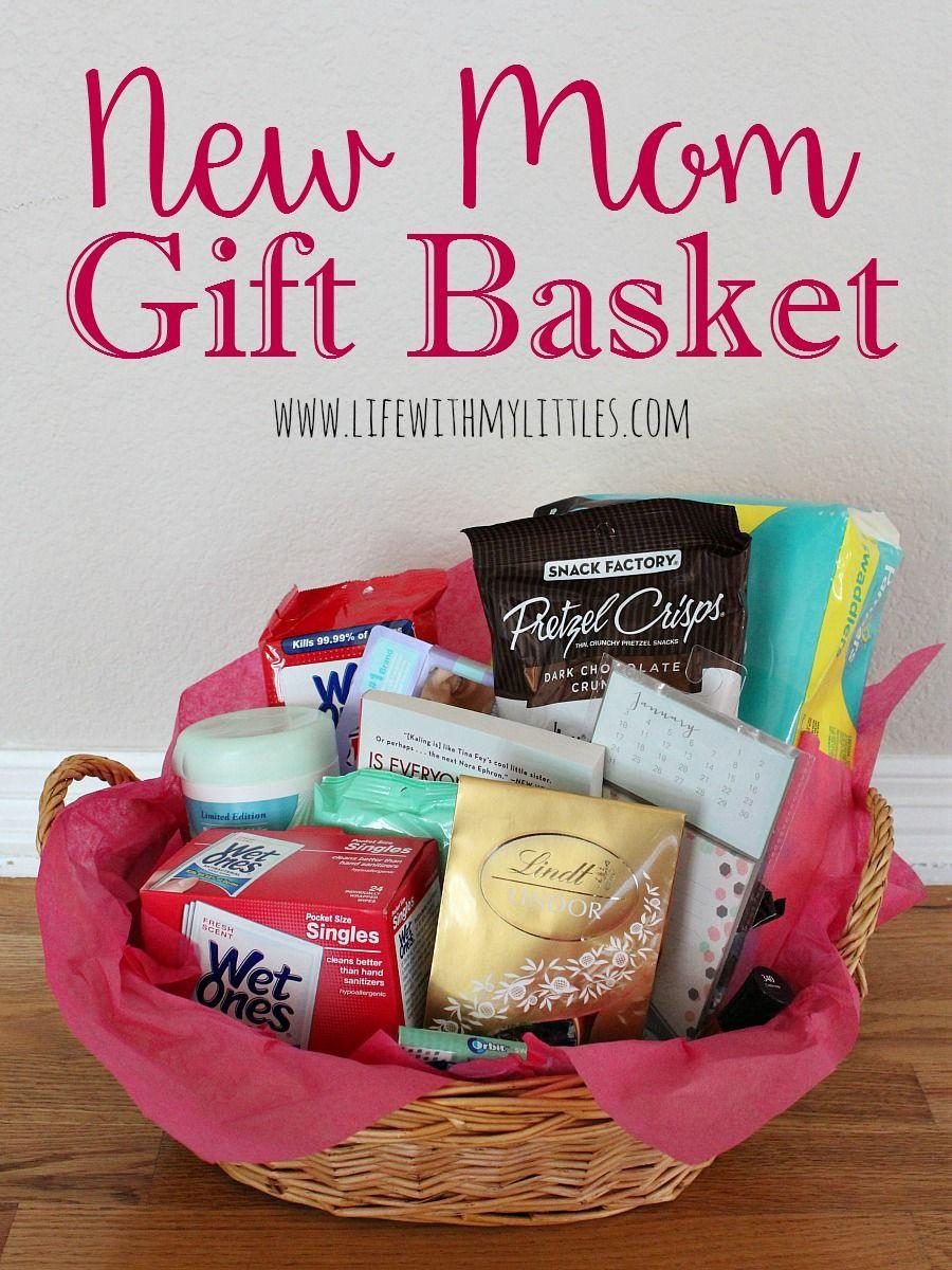 Gift Basket Ideas For New Mom  New Mom Gift Basket