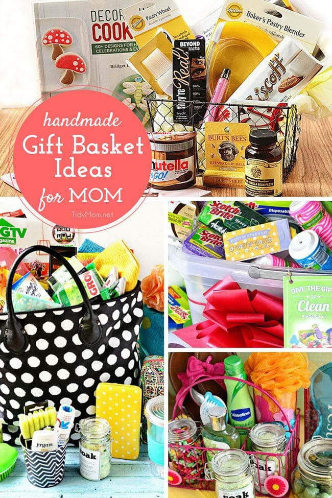 Gift Basket Ideas For New Mom  DIY Mother s Day Gifts TidyMom