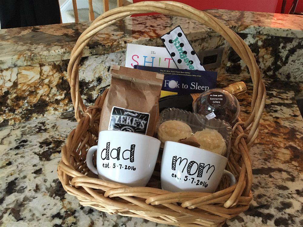Gift Basket Ideas For Parents  New parents t basket Best Gift Baskets