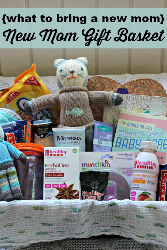 Gift Basket Ideas For Parents  what to bring a new mom New Mom Gift Basket Southern
