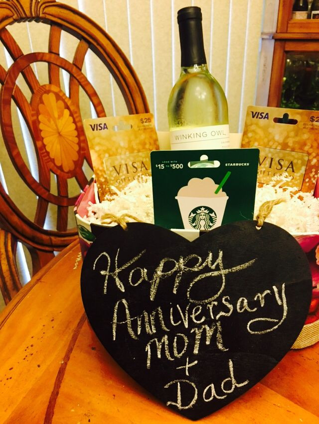 Gift Basket Ideas For Parents  Gift basket for my parents anniversary Basket of t