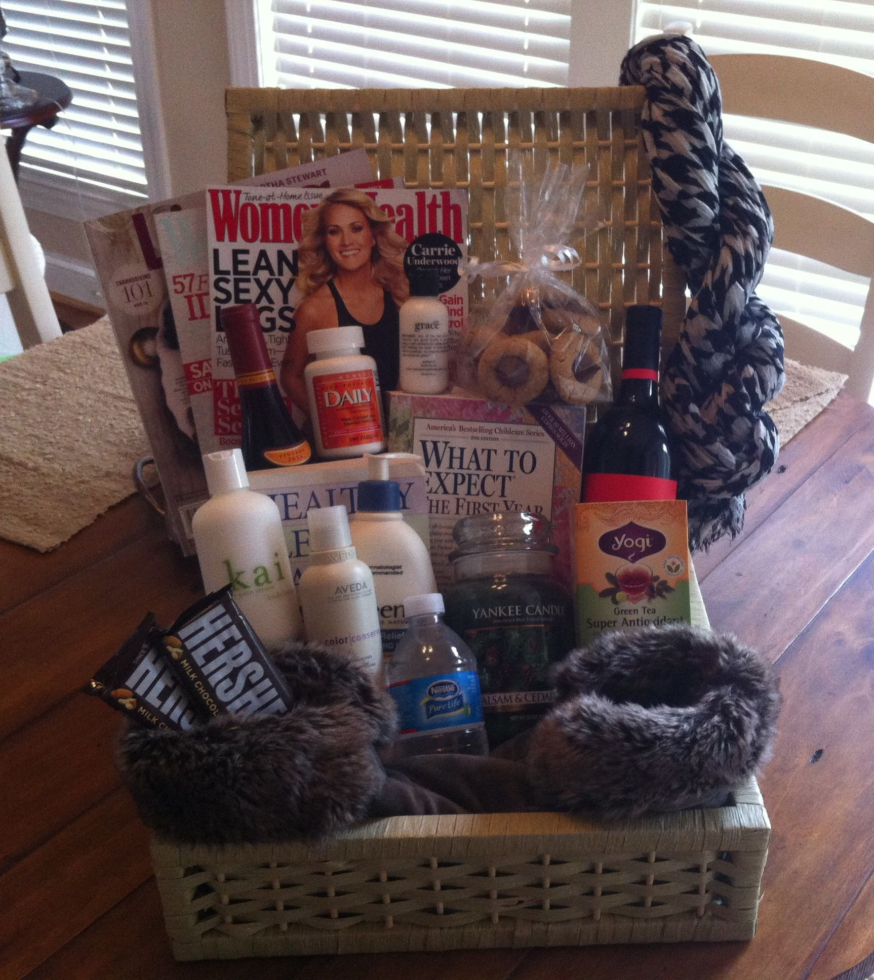 Gift Basket Ideas For Parents  Pin on My t baskets