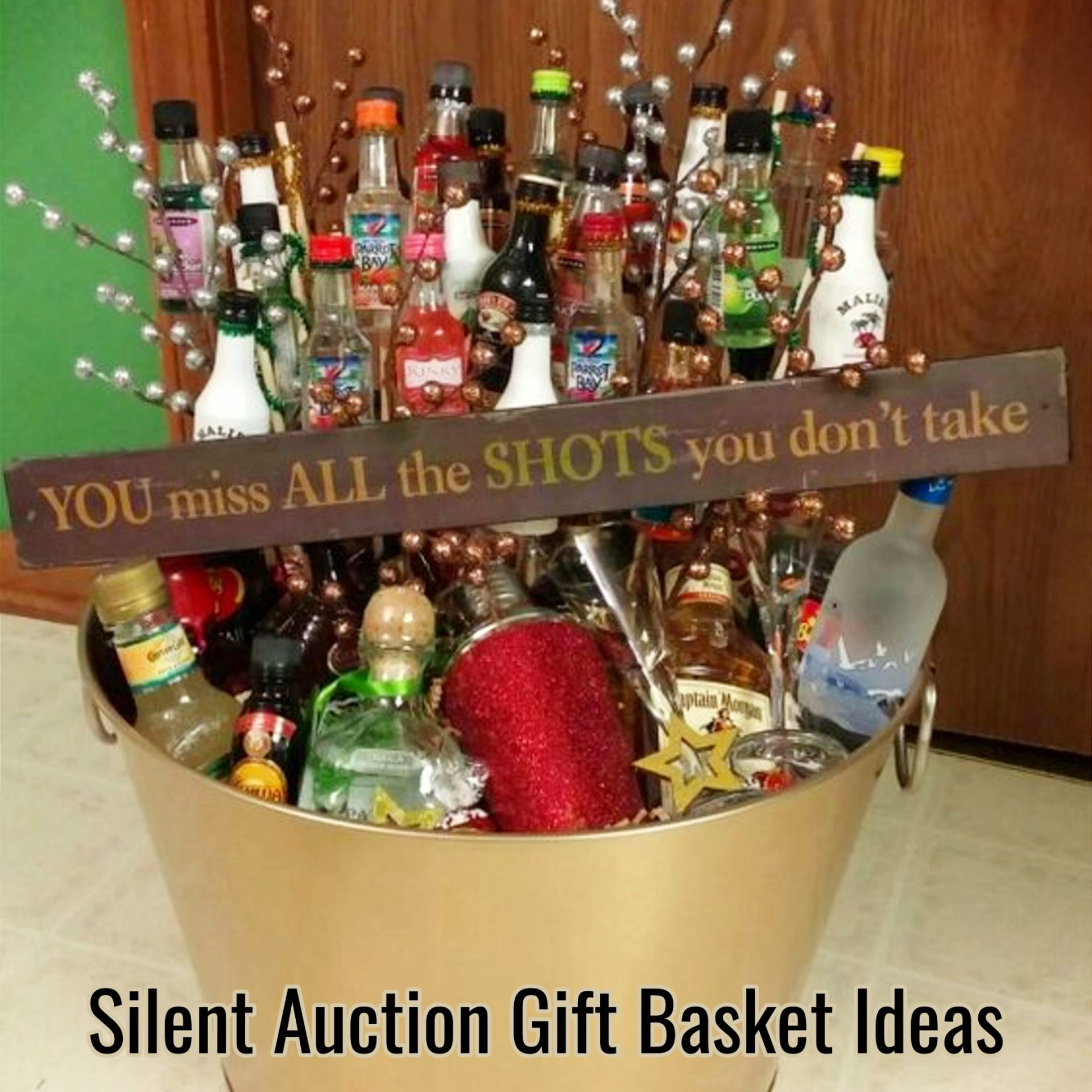 Gift Basket Ideas For Silent Auction Fundraiser  Creative Raffle Basket Ideas for a Charity School or
