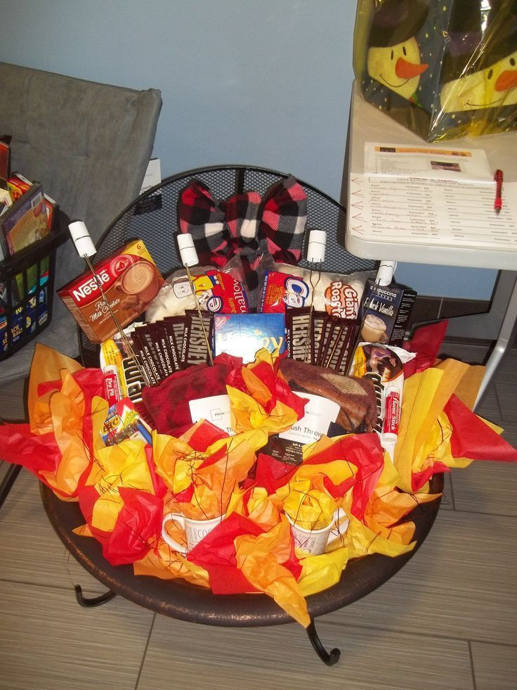 Gift Basket Ideas For Silent Auction Fundraiser  Made this for a Fundraiser Silent Auction It s consist of