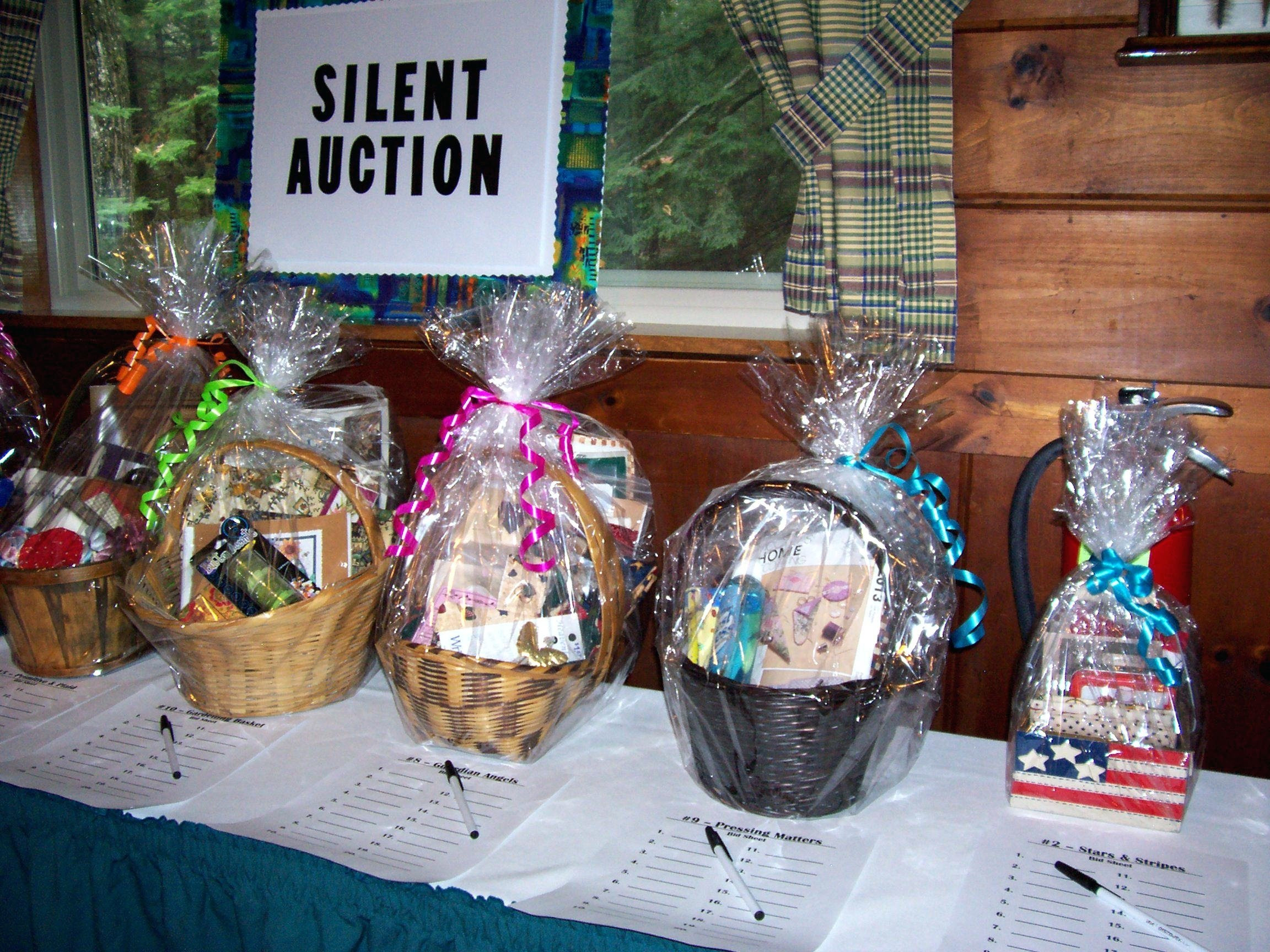Gift Basket Ideas For Silent Auction Fundraiser  10 Cute Theme Basket Ideas For Silent Auction 2019