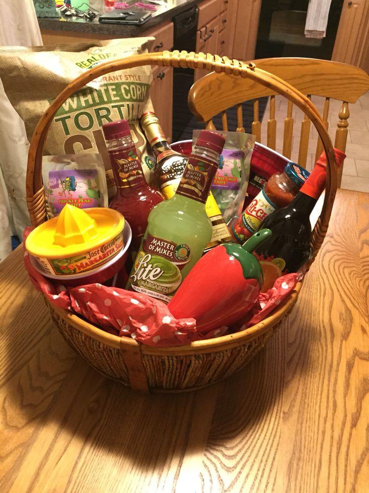 Gift Basket Theme Ideas Fundraiser  Margarita raffle basket