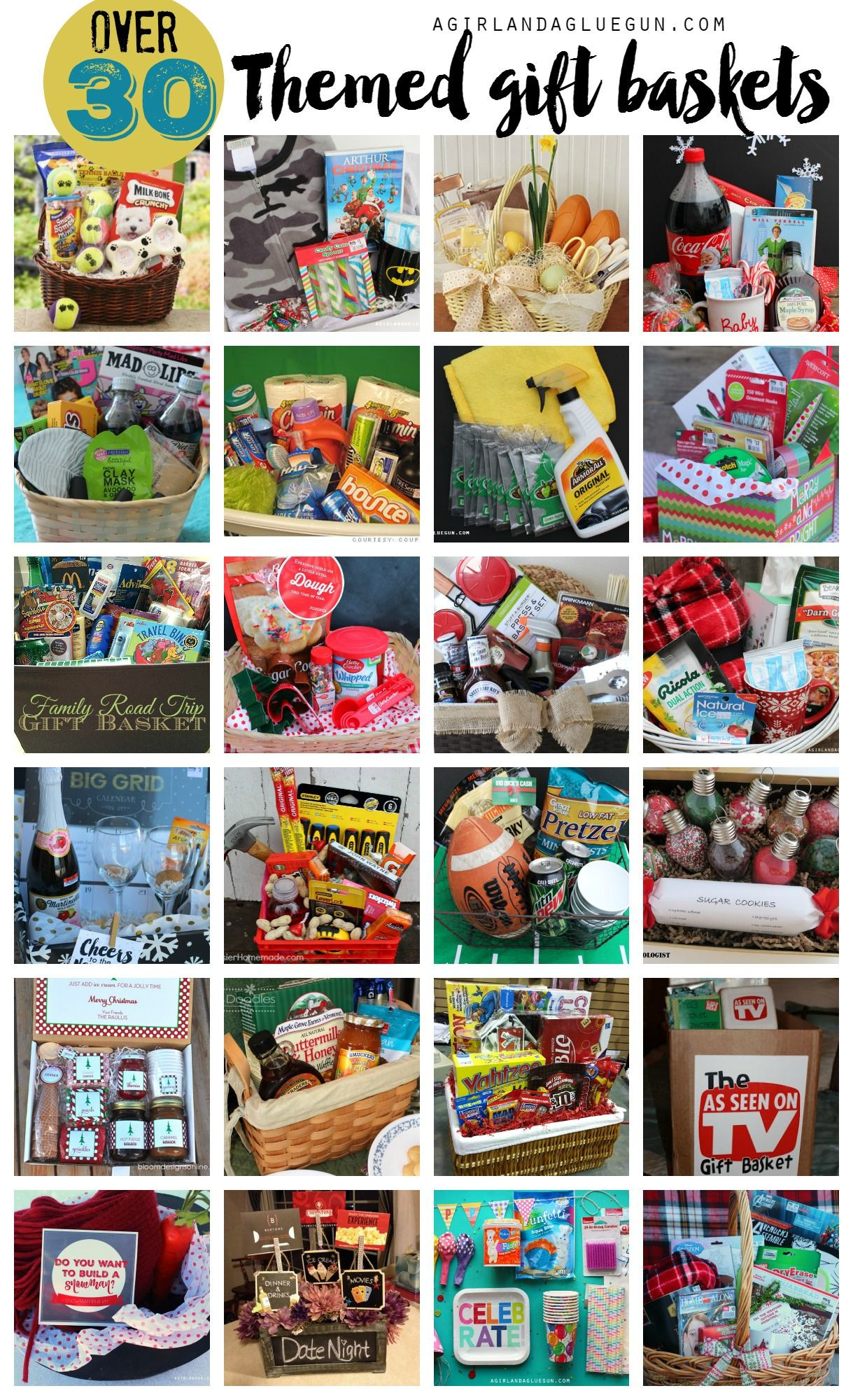 Gift Basket Theme Ideas Fundraiser  Pin on Fundraising Ideas