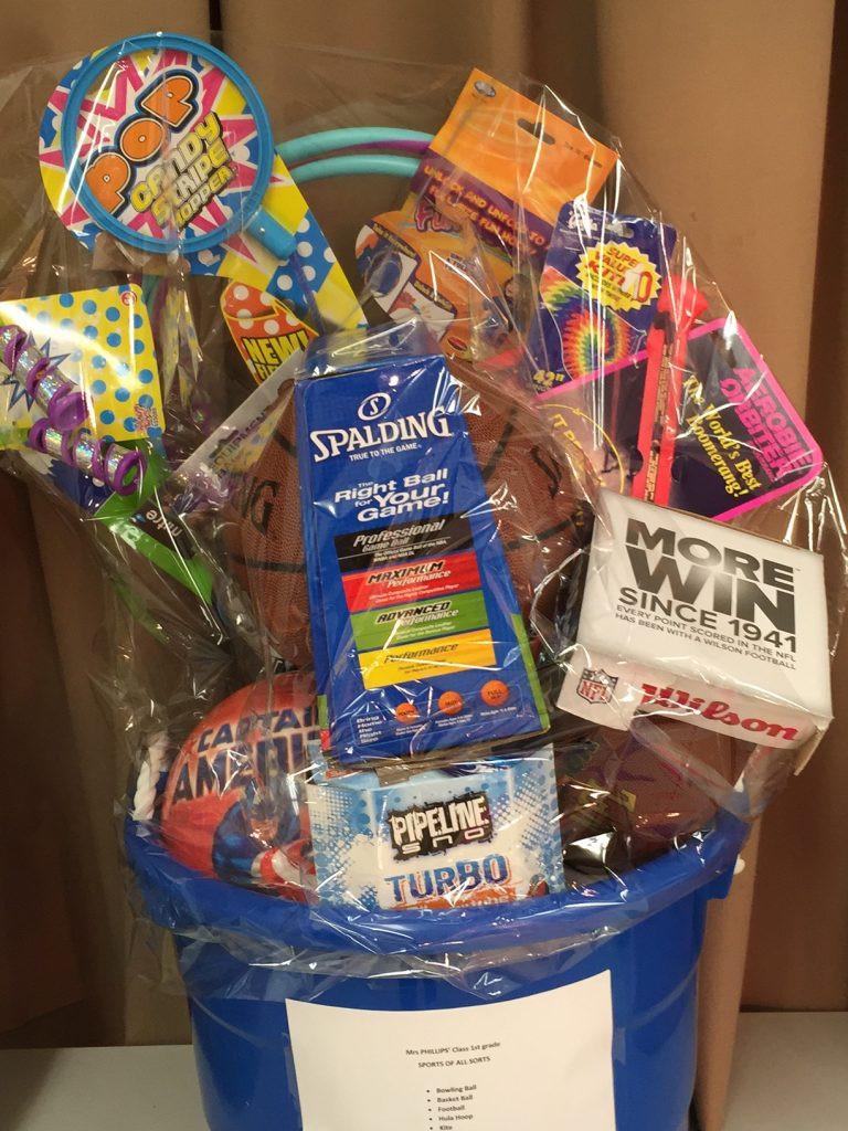 Gift Basket Theme Ideas Fundraiser  School Fundraiser Gift Basket Ideas Home & Plate
