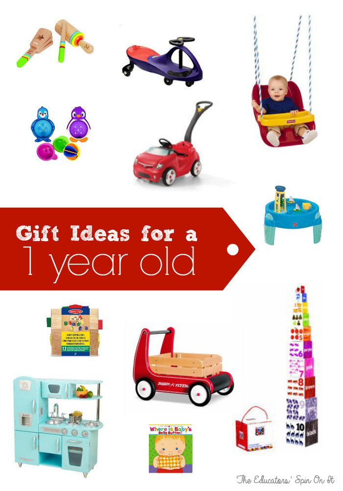 Gift Ideas For 1 Year Old Boys  Best Birthday Gifts for e Year Old The Educators Spin