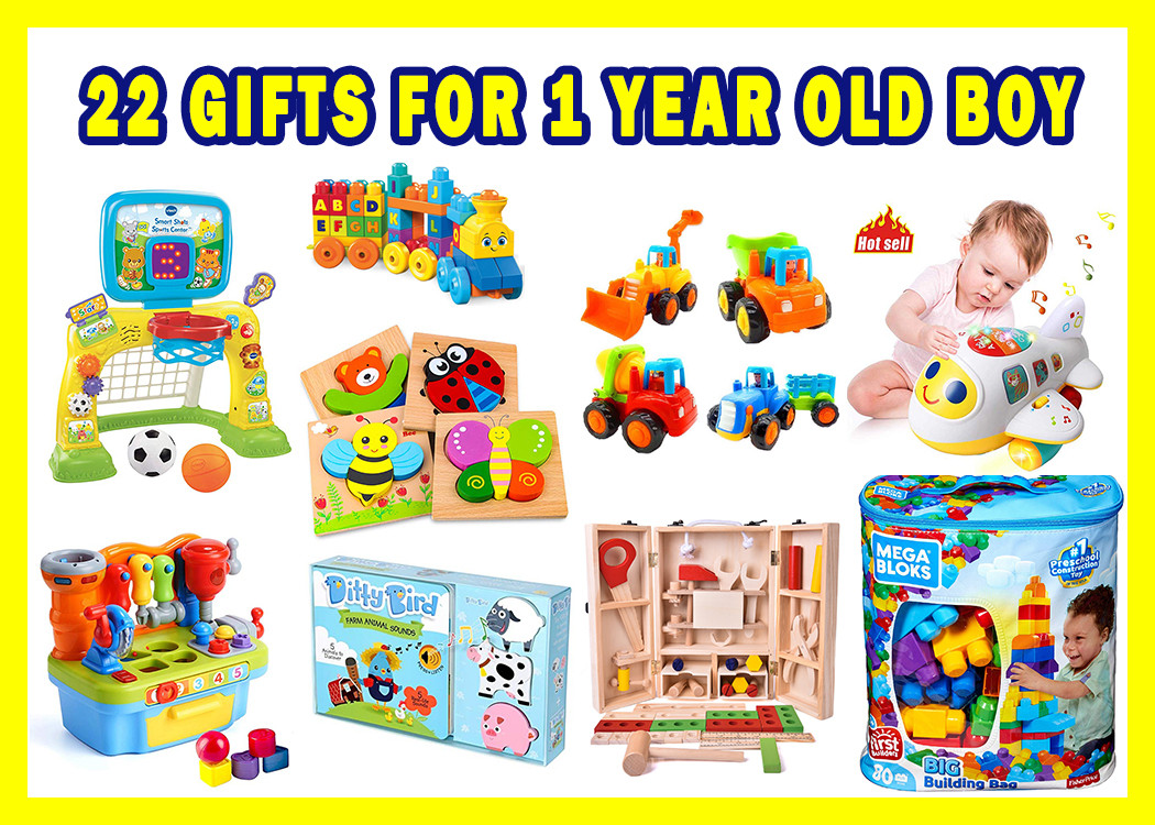 Gift Ideas For 1 Year Old Boys  22 Best Gifts For 1 Year Old Boy And Girl In 2020