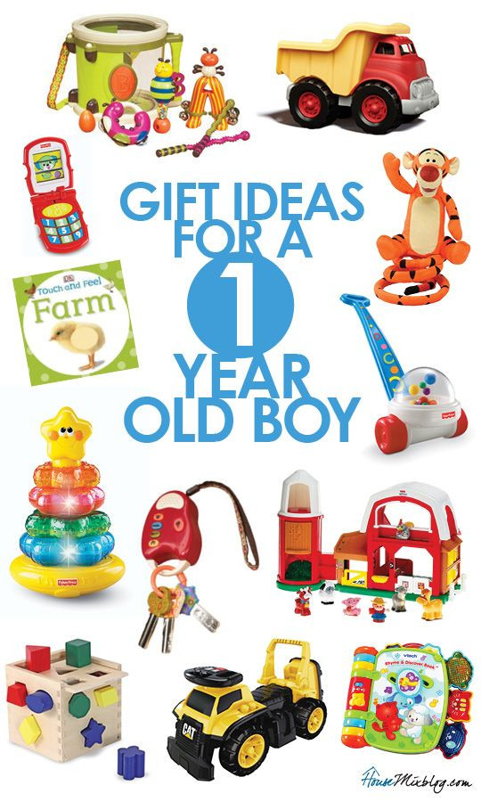 Gift Ideas For 1 Year Old Boys  Gift ideas for 1 year old boys