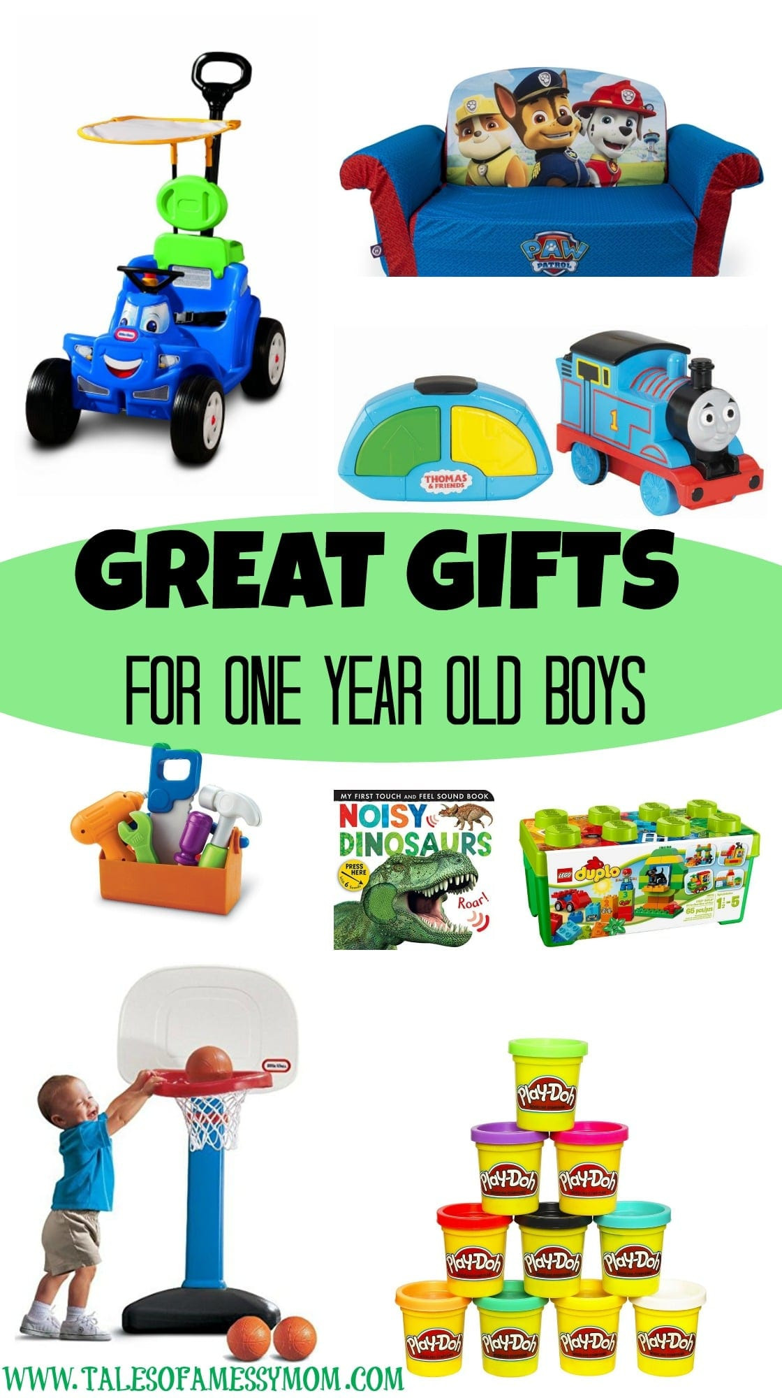 Gift Ideas For 1 Year Old Boys  Gift Ideas for e Year Old Boys Tales of a Messy Mom