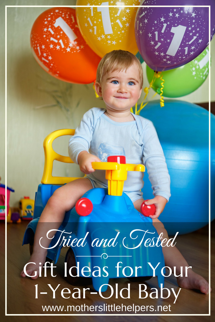 Gift Ideas For 1 Year Old Boys  Tried and Tested Gift Ideas for Your e Year Old Baby