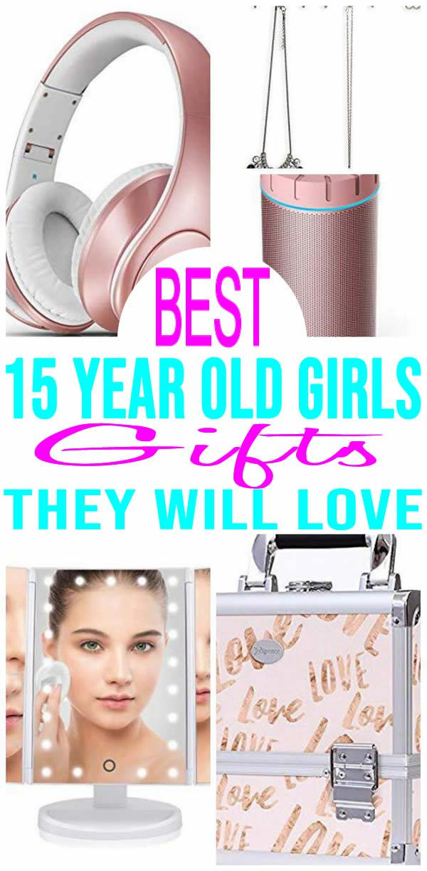 Gift Ideas For 15 Year Old Girls  BEST Gifts 15 Year Old Girls Will Love