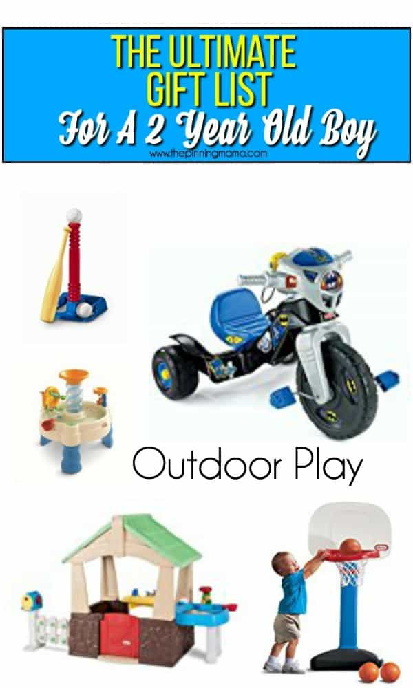Gift Ideas For 2 Year Old Boys  The Ultimate Gift List for a 2 year old Boy • The Pinning Mama