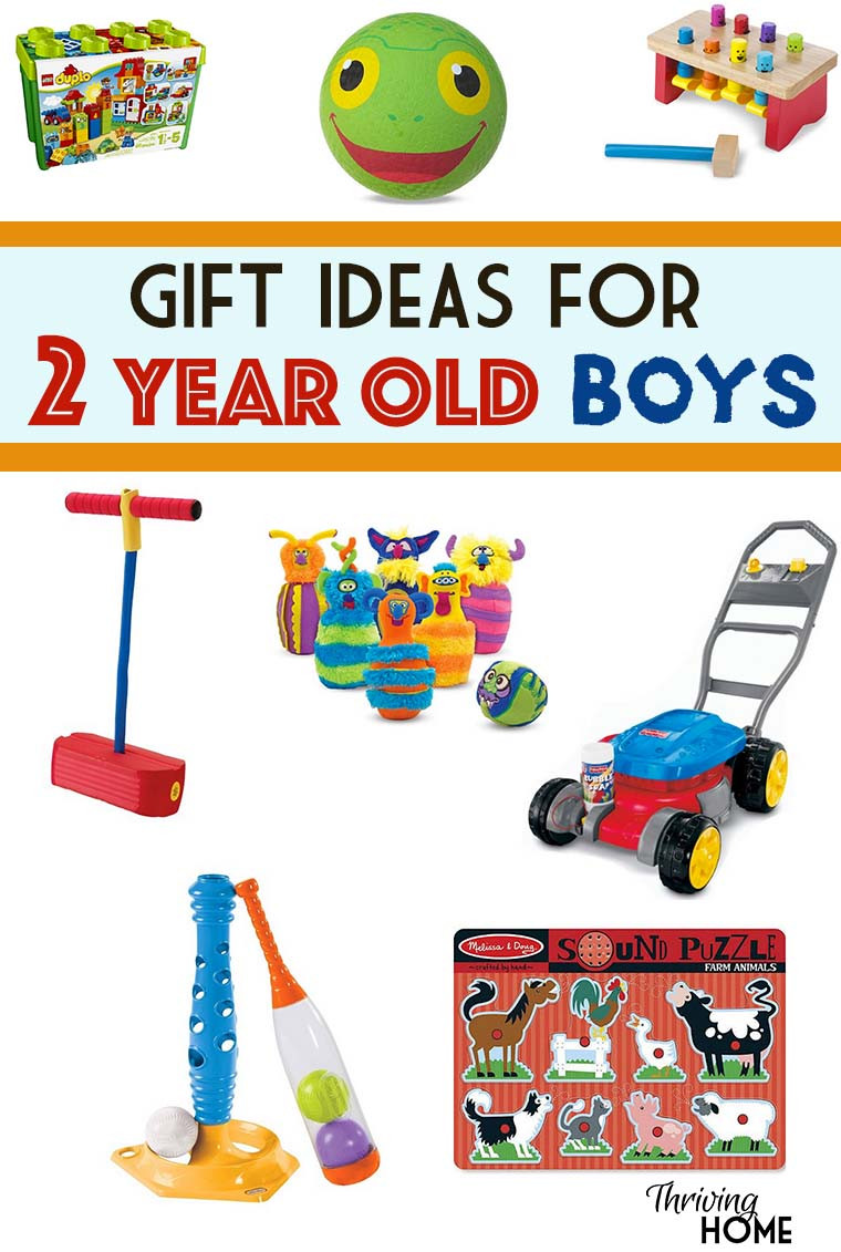 Gift Ideas For 2 Year Old Boys  Gift Ideas for a Two Year Old Boy