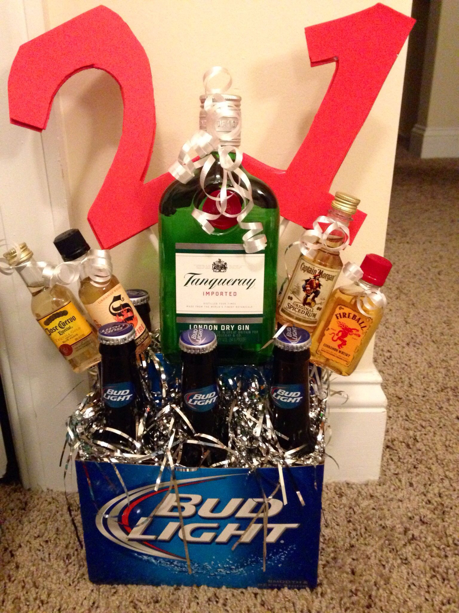Gift Ideas For 21St Birthday Male  21st birthday idea for a guy