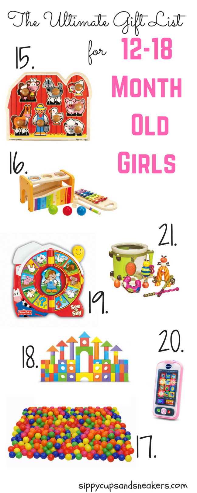 Gift Ideas For 8 Month Old Baby Girl  Pin on Gift Guides Christmas 2016