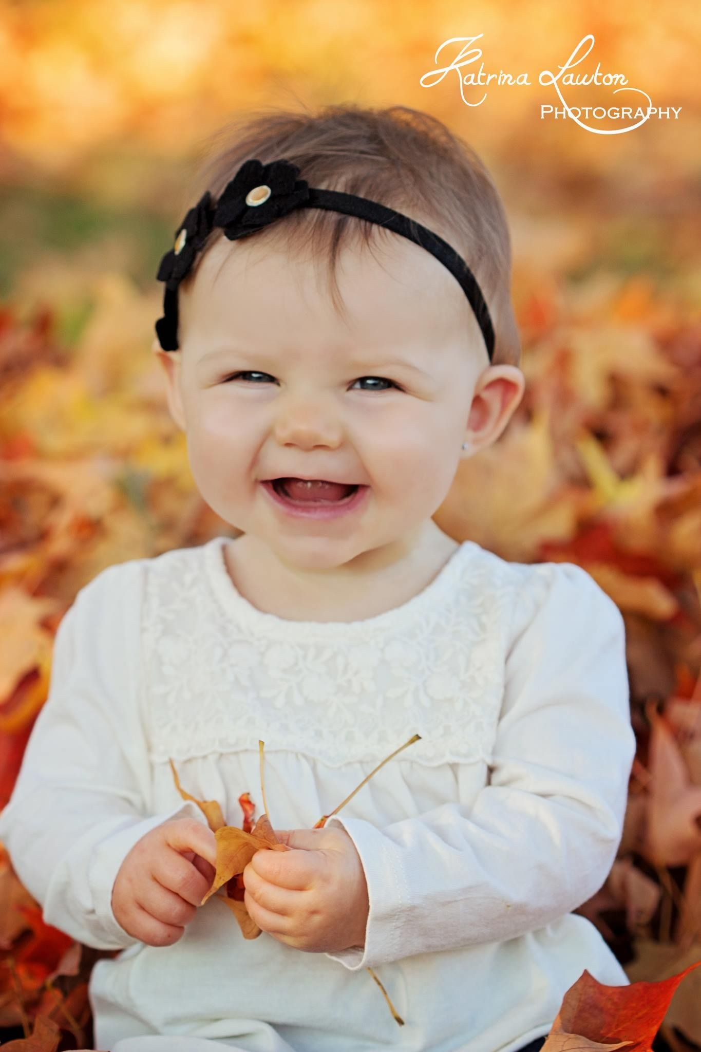 Gift Ideas For 8 Month Old Baby Girl  Fall photography 8 month old baby girl